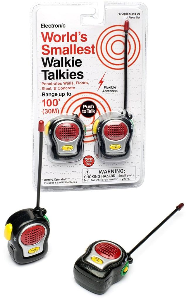 Westminster Smallest Walkie Talkie Set