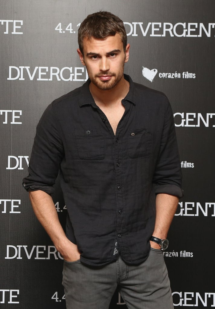 Theo James = Theodore Peter James Kinnaird Taptiklis