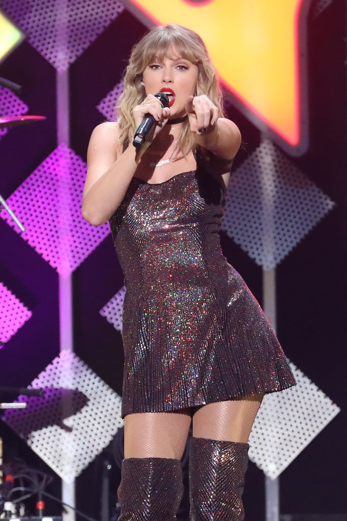 Taylor Swift at iHeartRadio's Jingle Ball in NYC