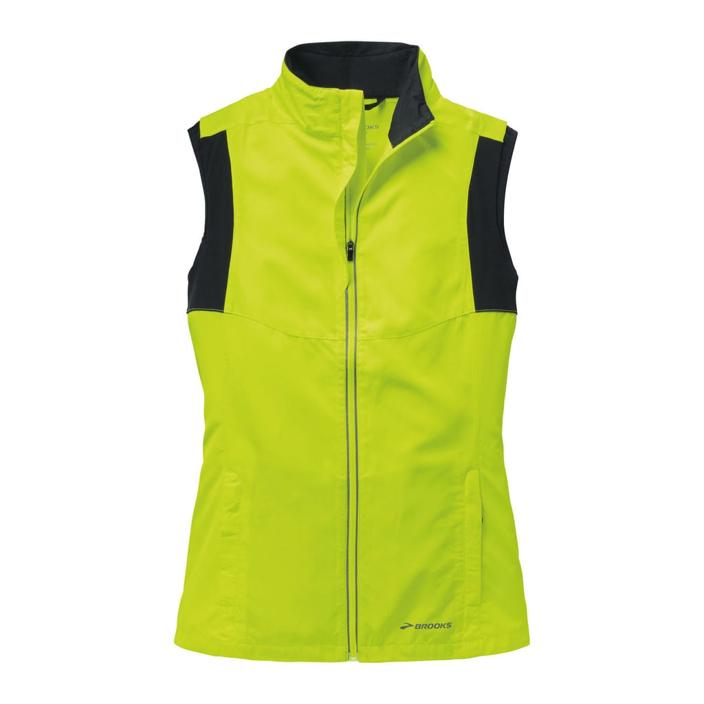 brooks nightlife essential vest iii reflective running gear popsugar fitness photo 1. Black Bedroom Furniture Sets. Home Design Ideas