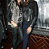 Quiana Grant and Damaris Lewis at the Pain and Gain afterparty in New York. Source: Matteo Prandoni/BFAnyc.com