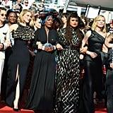 Haifaa al-Mansour, Kristen Stewart, Léa Seydoux, Khadja Nin, Ava DuVernay, Cate Blanchett, and Agnes Varda
