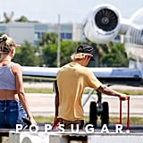 Justin Bieber and Hailey Baldwin Out in Miami June 2018