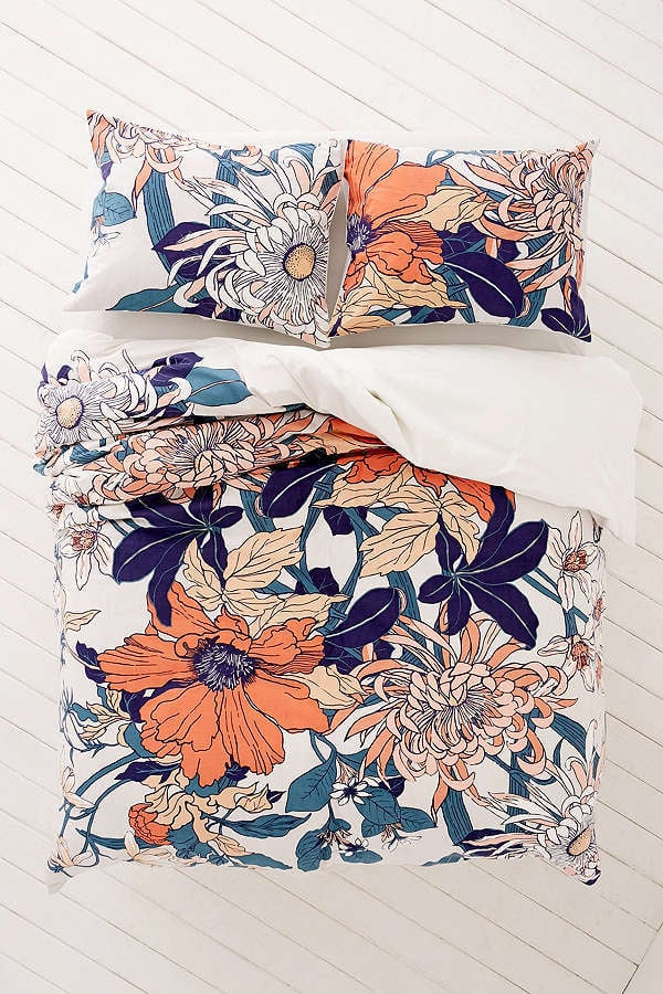 Urban Outfitters Botanical Scarf Twin Duvet Cover
