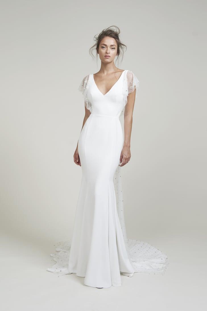 Bridal Trend Fall 2020: Flutter Sleeves | New Wedding ...