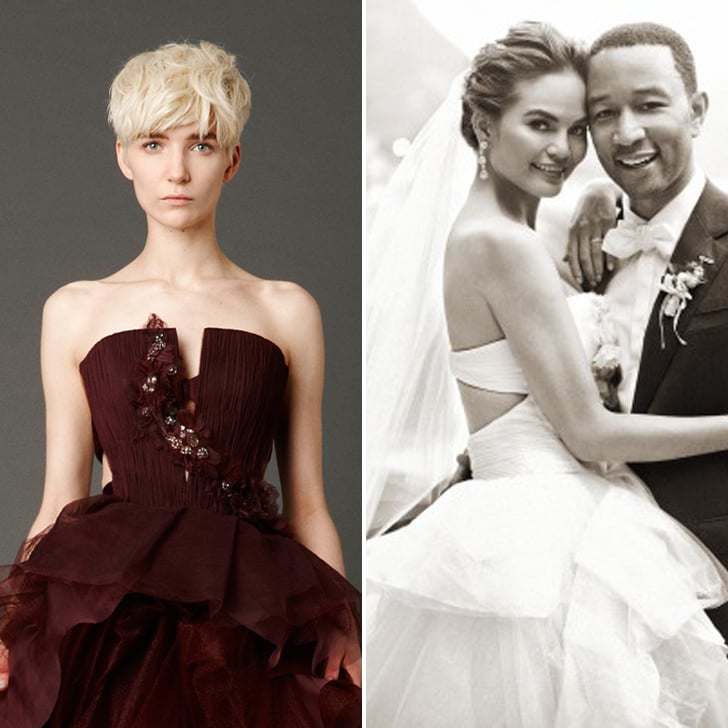 The Ceremony | Chrissy Teigen Wedding Dress Photos | POPSUGAR ...