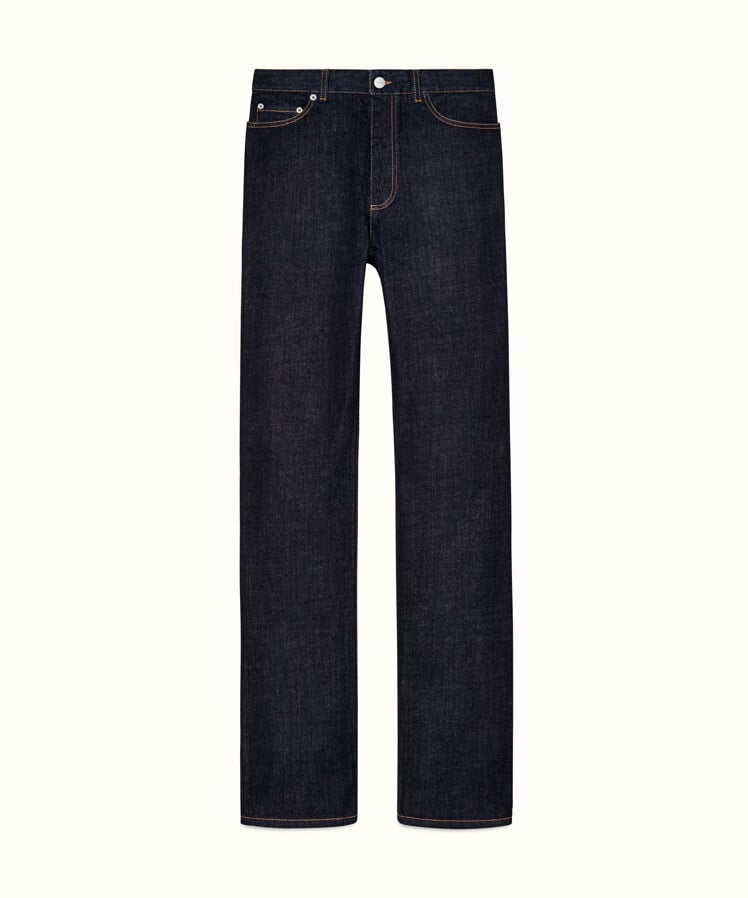 Fenty Denim Straight Fit Pants