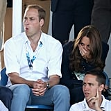 Their faces said it all when they watched the hockey game between Scotland and Wales during July's Commonwealth Games.