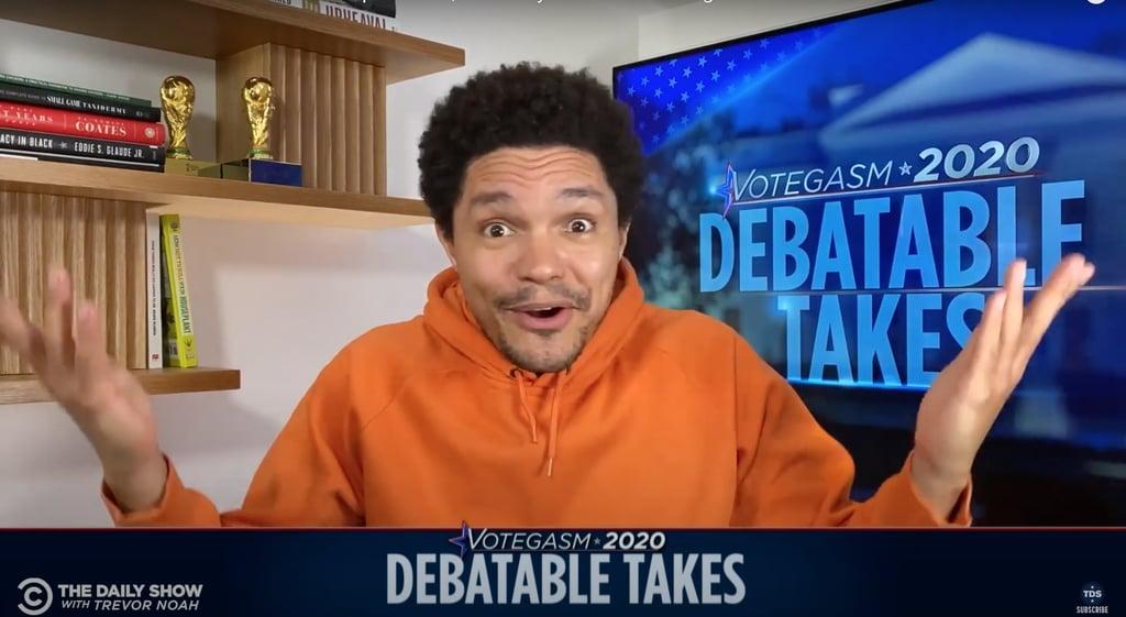 Watch Late-Night Hosts Unpack the First Presidential Debate