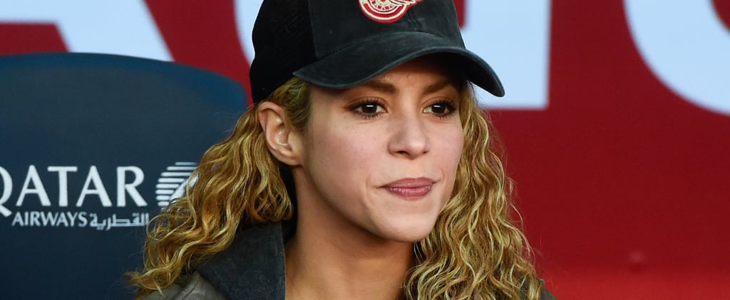 Shakira's Stress Level Is Out of This World While Watching Gerard Piqué Play Soccer