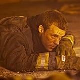 Jesse Spencer in Chicago Fire.