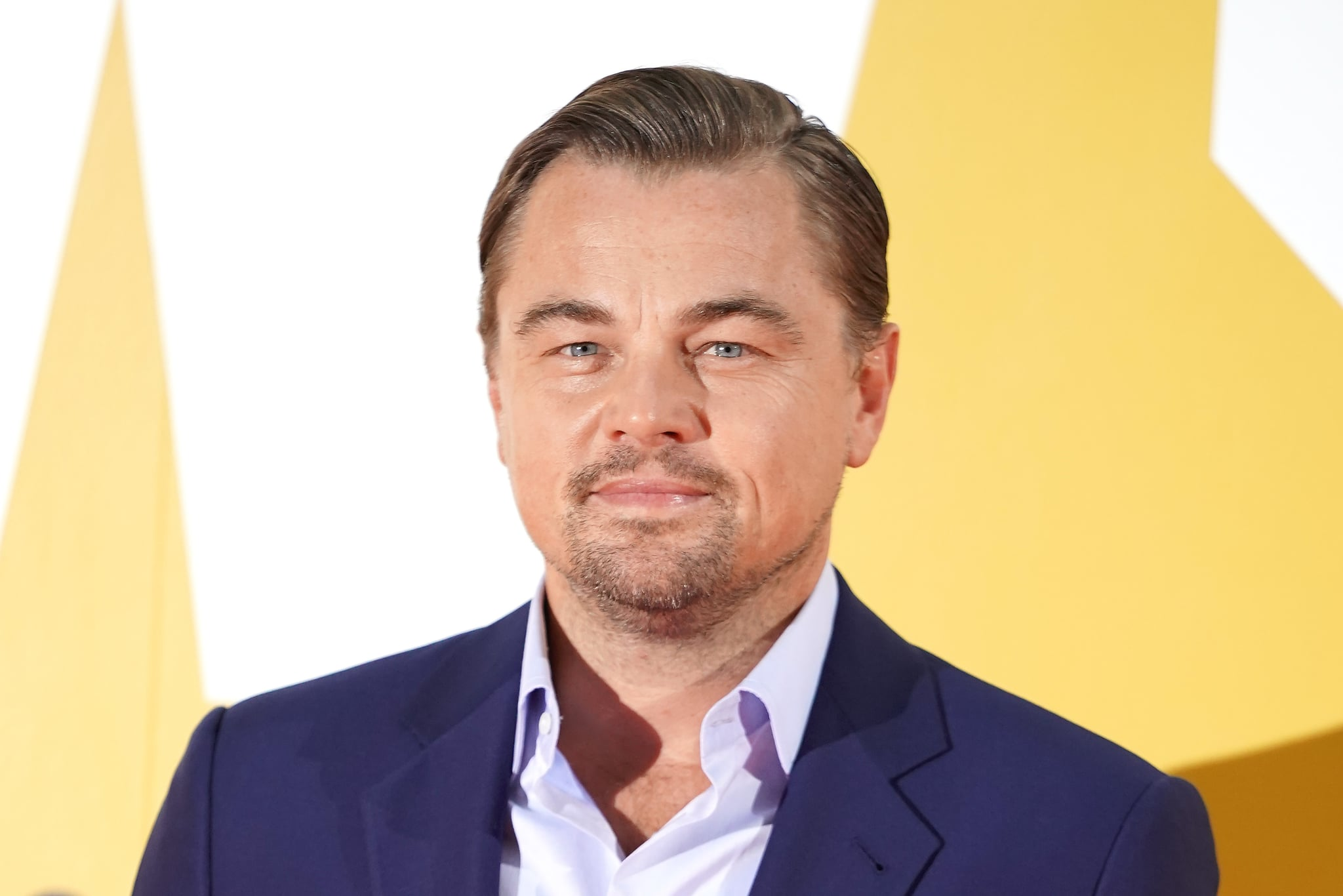 TOKYO, JAPAN - AUGUST 26: Leonardo DiCaprio attends the Japan premiere of 'Once Upon A Time In Hollywood' on August 26, 2019 in Tokyo, Japan. (Photo by Christopher Jue/Getty Images)