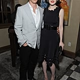 Benedict Cumberbatch and Michelle Dockery linked up at the party.