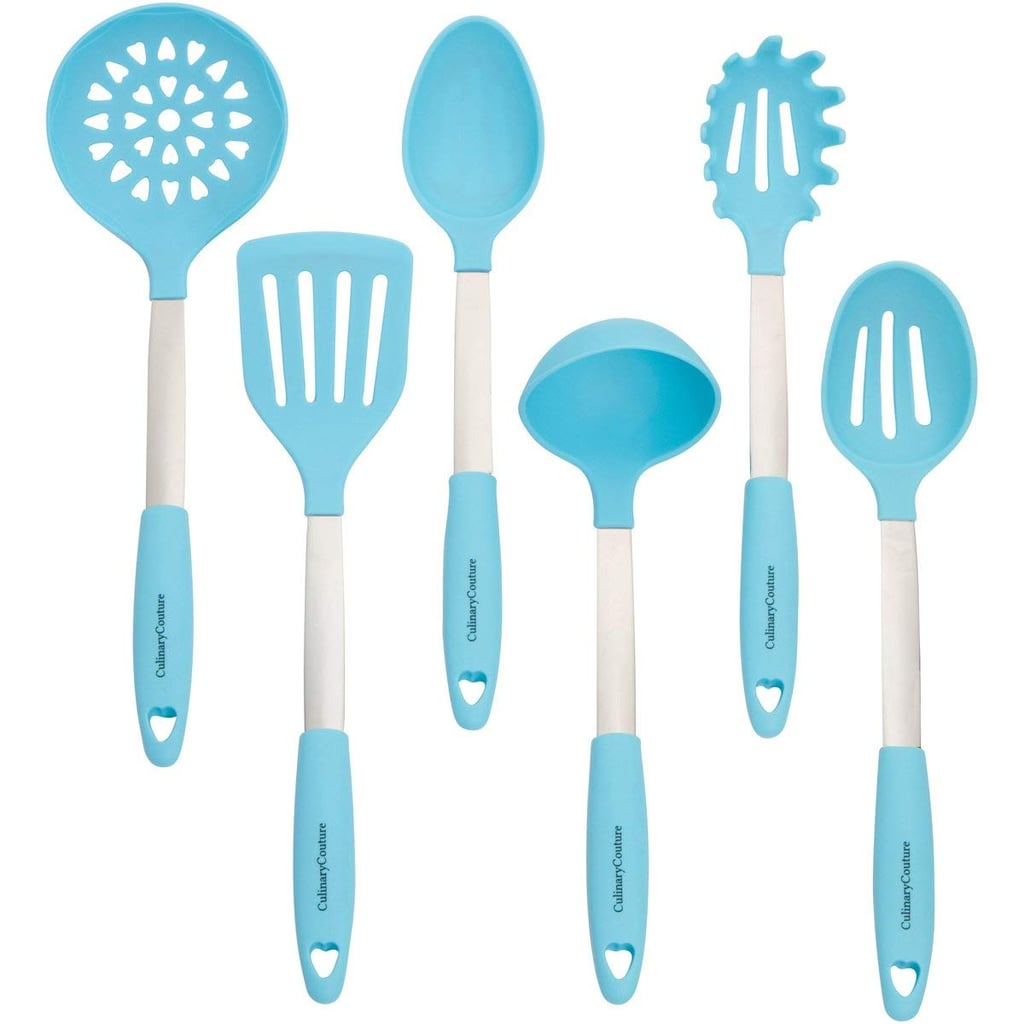 Stainless Steel and Silicone Cooking Utensil Set