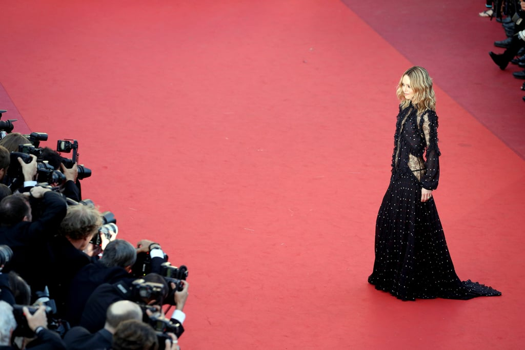 Vanessa Paradis Worked Her Elie Saab Number For the Cameras