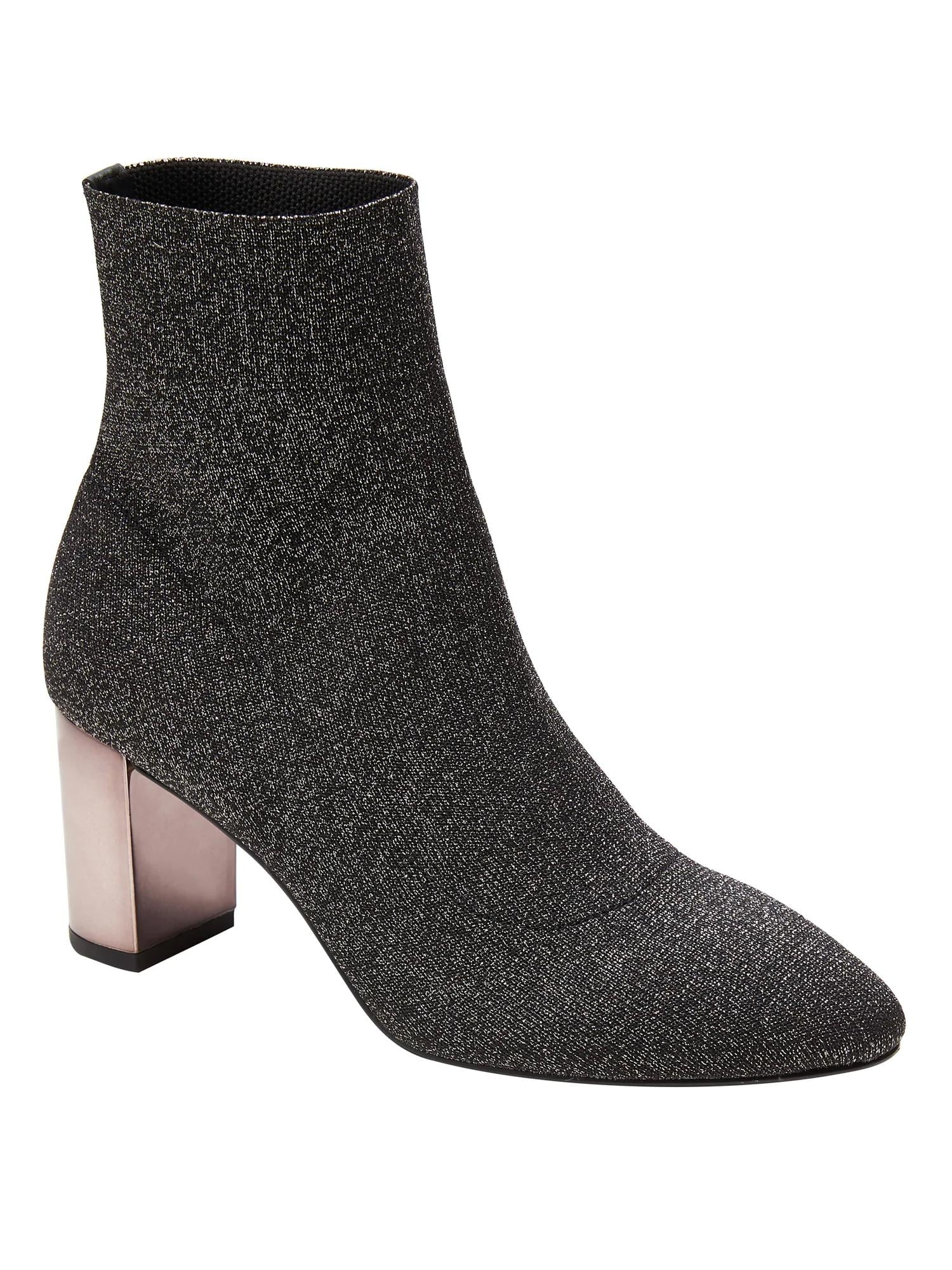 Metallic Sock Boot   In These 20 Shoes