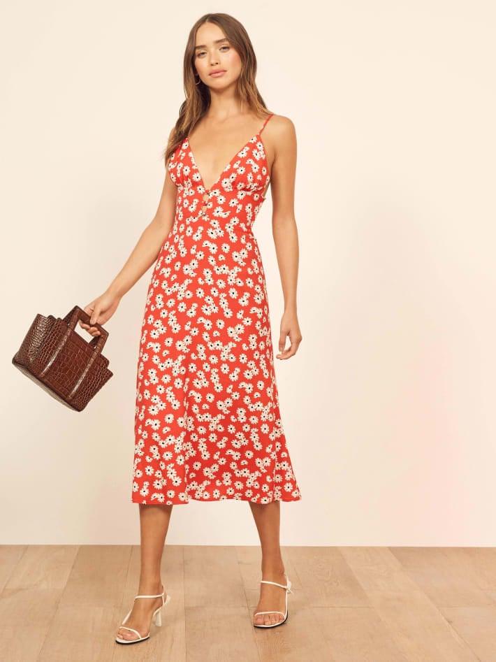 ec9351ac969 Reformation Montague Dress