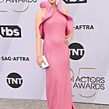 Emily Blunt Pink Dress at the SAG Awards 2019