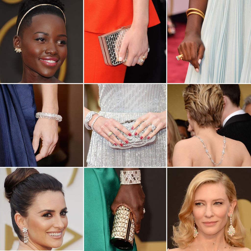 Shoes and Jewelry at the Oscars 2014