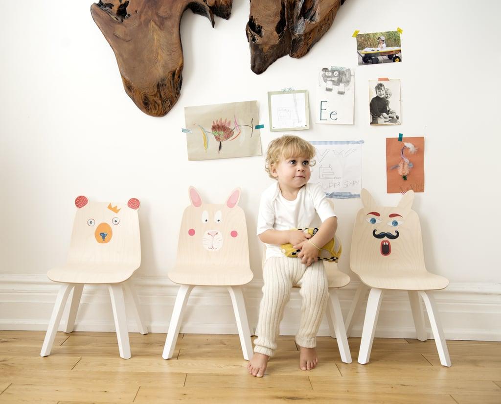 Oeuf Animal Ears Play Chairs