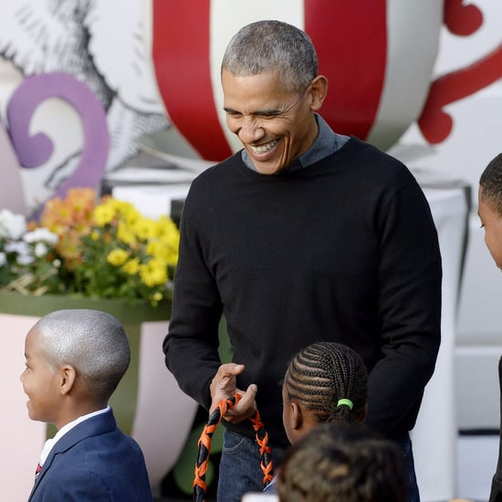 "President Obama Singing ""Purple Rain"" to Little Boy Video"