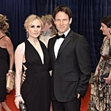 Anna Paquin and Stephen Moyer, who are soon-to-be parents, posed together at the White House Correspondant's Dinner.