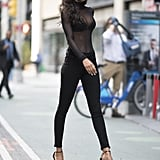Lais's Street Style Veers on the Sexy Side