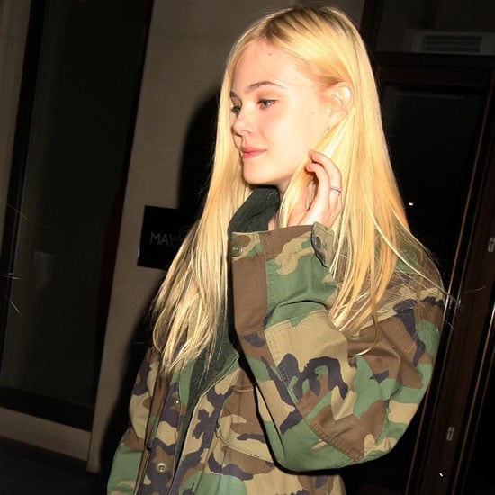 Celebrities Wearing Camouflage