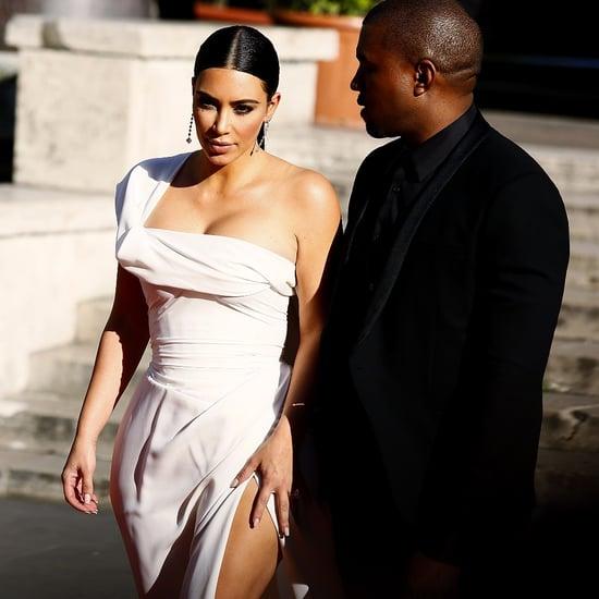 Kim Kardashian and Kanye West at La Traviata Premiere 2016