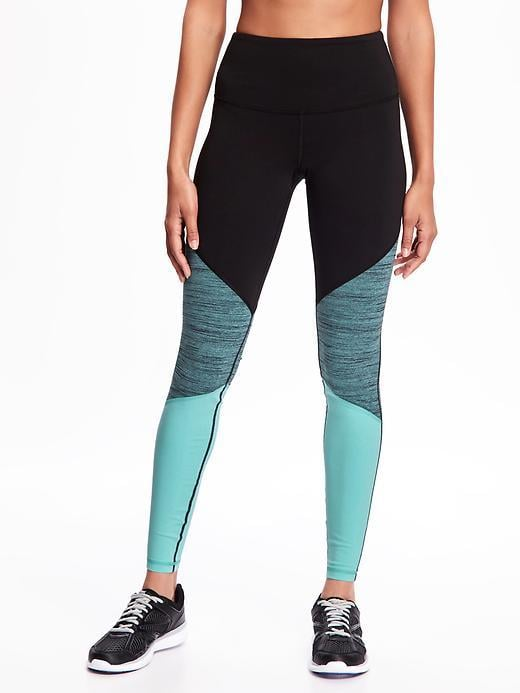 Old Navy Go-Dry High-Rise Color-Block Compression Tights