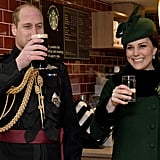 "William and Kate Said ""Cheers"" on St. Patrick's Day"
