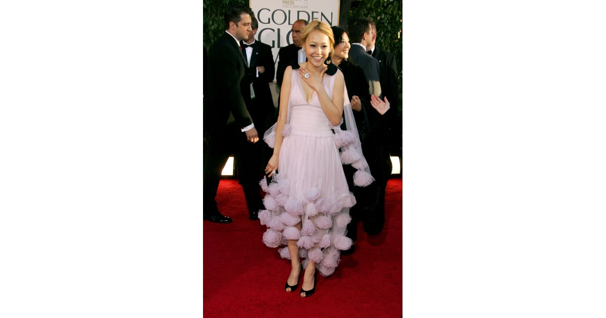 Rinko Kikuchi | Memorable Golden Globe Awards Dresses ...