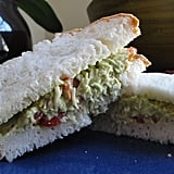 Avocado and Tomato Chicken Sandwich