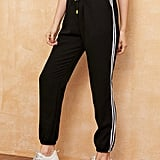 Shein Side Stripe Drawstring Sweatpants