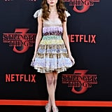 Natalia Dyer at Stranger Things Season 3 Premiere