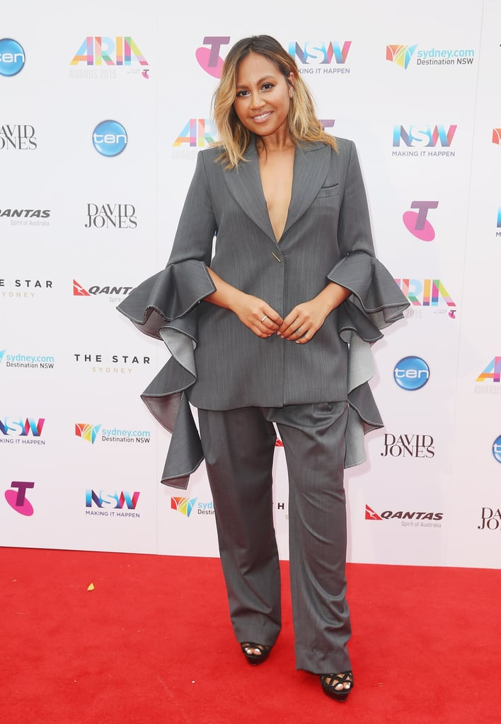Jessica Mauboy at the 2015 ARIA Awards