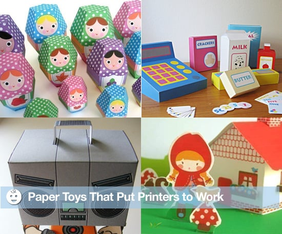 Eco-Friendly Paper Toys