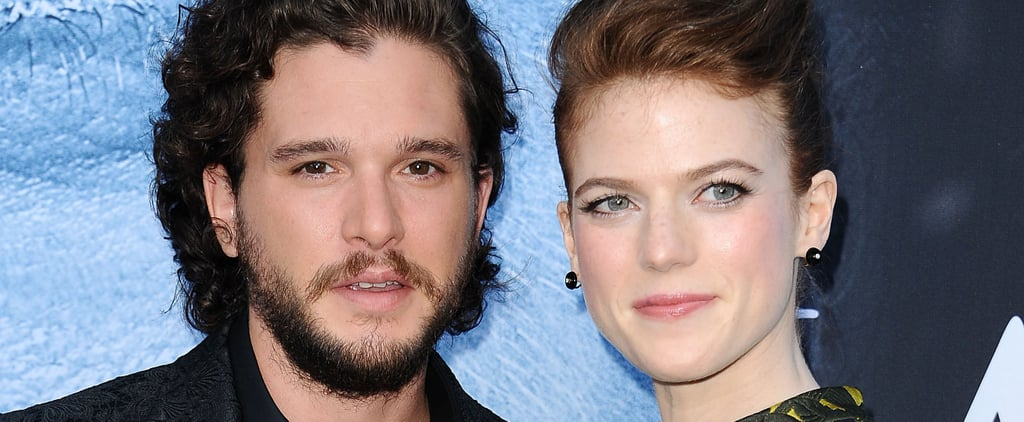 It Doesn't Sound Like Rose Leslie and Kit Harington Will Be Walking Down the Aisle Any Time Soon