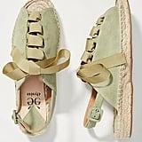 Elysess Tie Espadrille Sandals