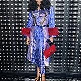 Salma Hayek at Gucci Fall 2019
