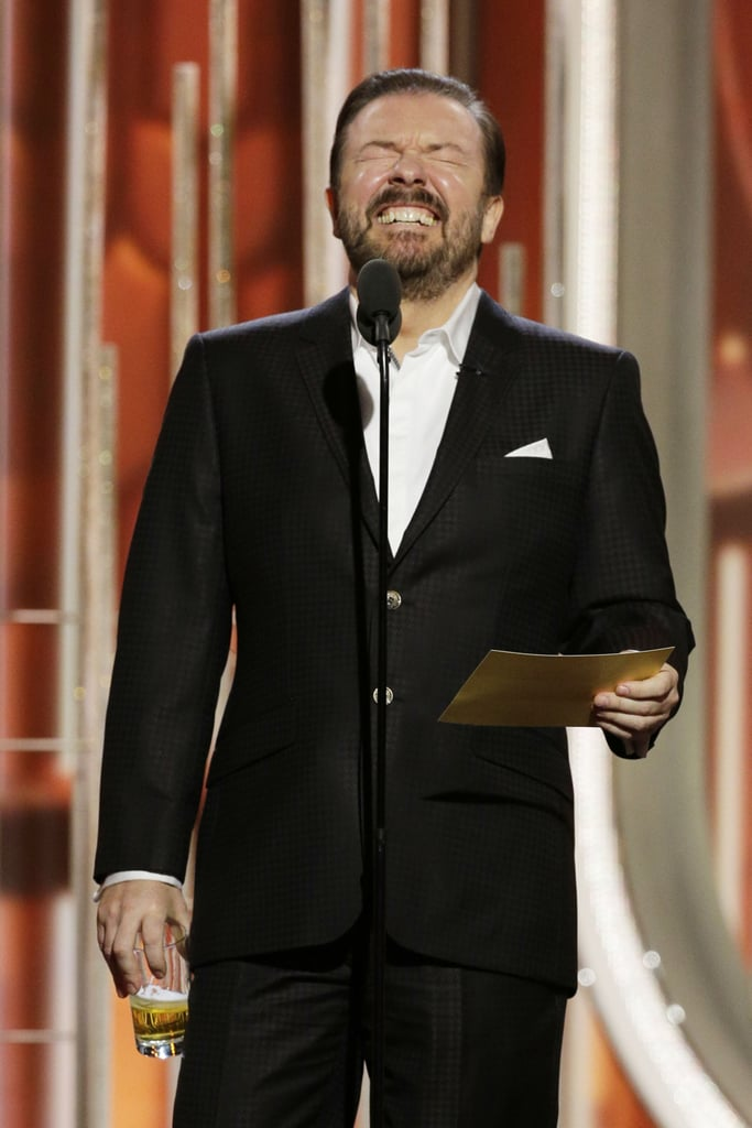 Ricky Gervais's Opening Monologue