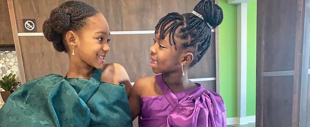 Kids Dressed as Lupita Nyong'o and Chimamanda Ngozi Adichie