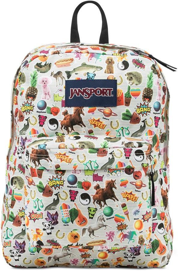 JanSport Multi Stickers Backpack