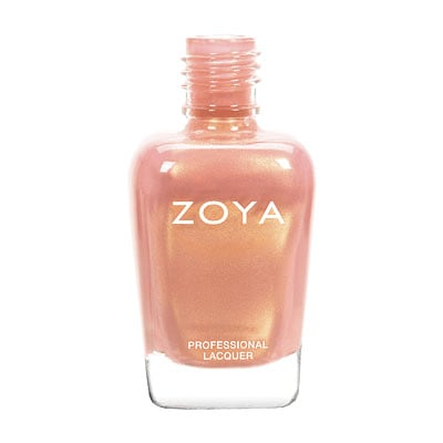 Zoya Nail Polish in Medow ($10) is a gorgeous warm nude with gold shimmer reminiscent of a sunset. It will become your go-to color for Spring.