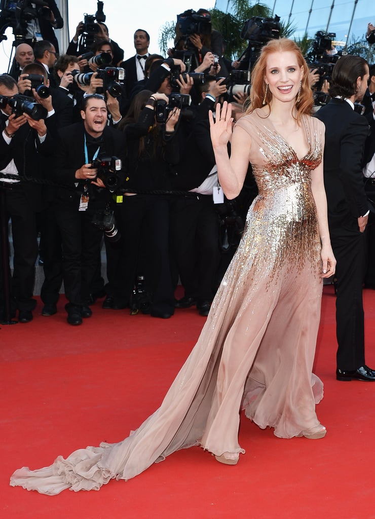 This year we bore witness to the rise of Jessica Chastain's career. While she might consider earning her first Oscar nomination as the highlight of her year, seeing her in this beautiful Gucci gown at the Cannes Film Festival tops our list of memorable moments.  — Maria Mercedes Lara, associate editor
