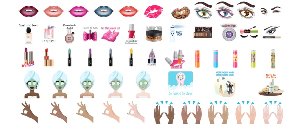 There Are Now Urban Decay, NYX, and Maybelline Beauty Emoji!