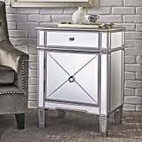 Christopher Knight Aedon Mirrored Side Table