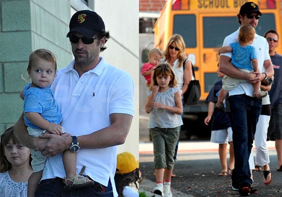 Photos of Patrick Dempsey and His Family in LA