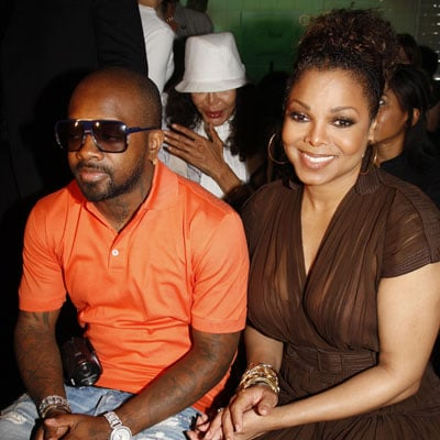 Janet Jackson and Jermaine Dupri at the Gaultier Couture Show