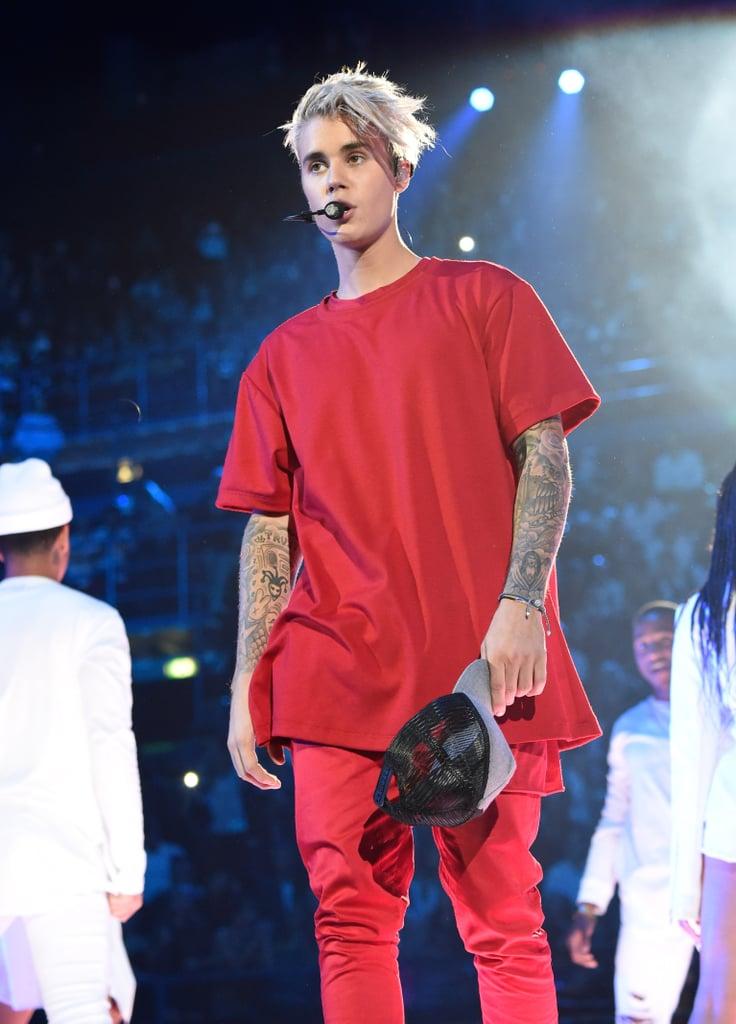 How many celebrity's like Justin Bieber - answers.com